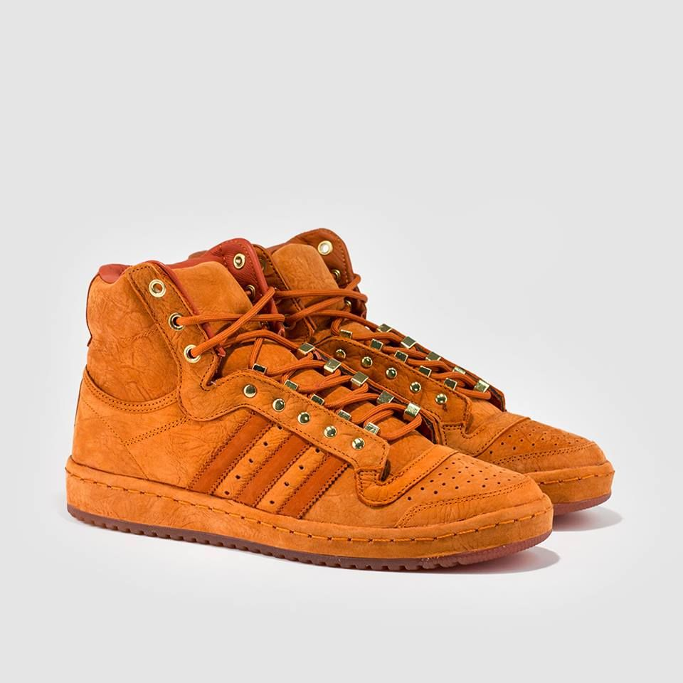 adidas Originals Top Ten Hi  Fox Red  33906d1ebc81