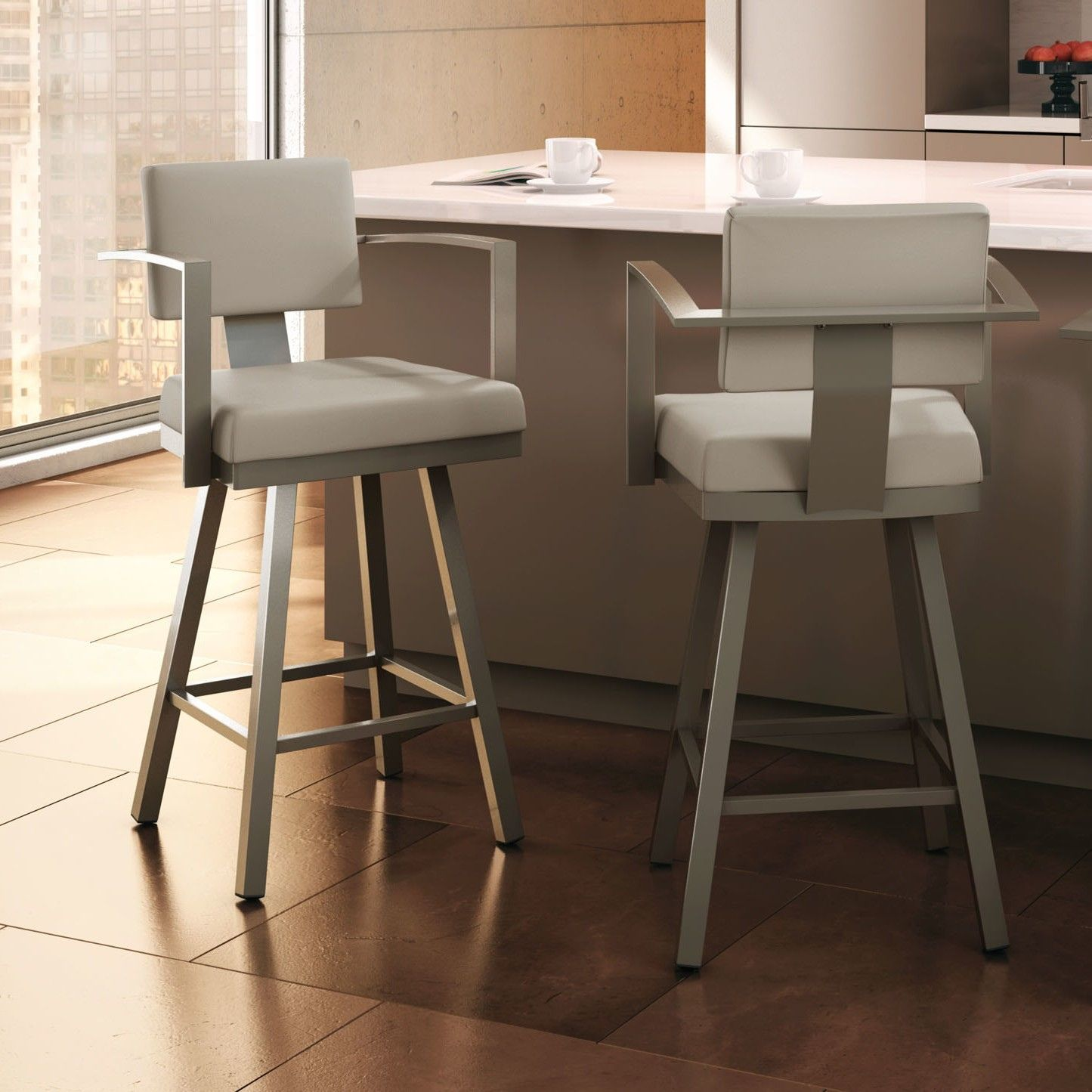 55 counter height bar stools with arms modern design furniture