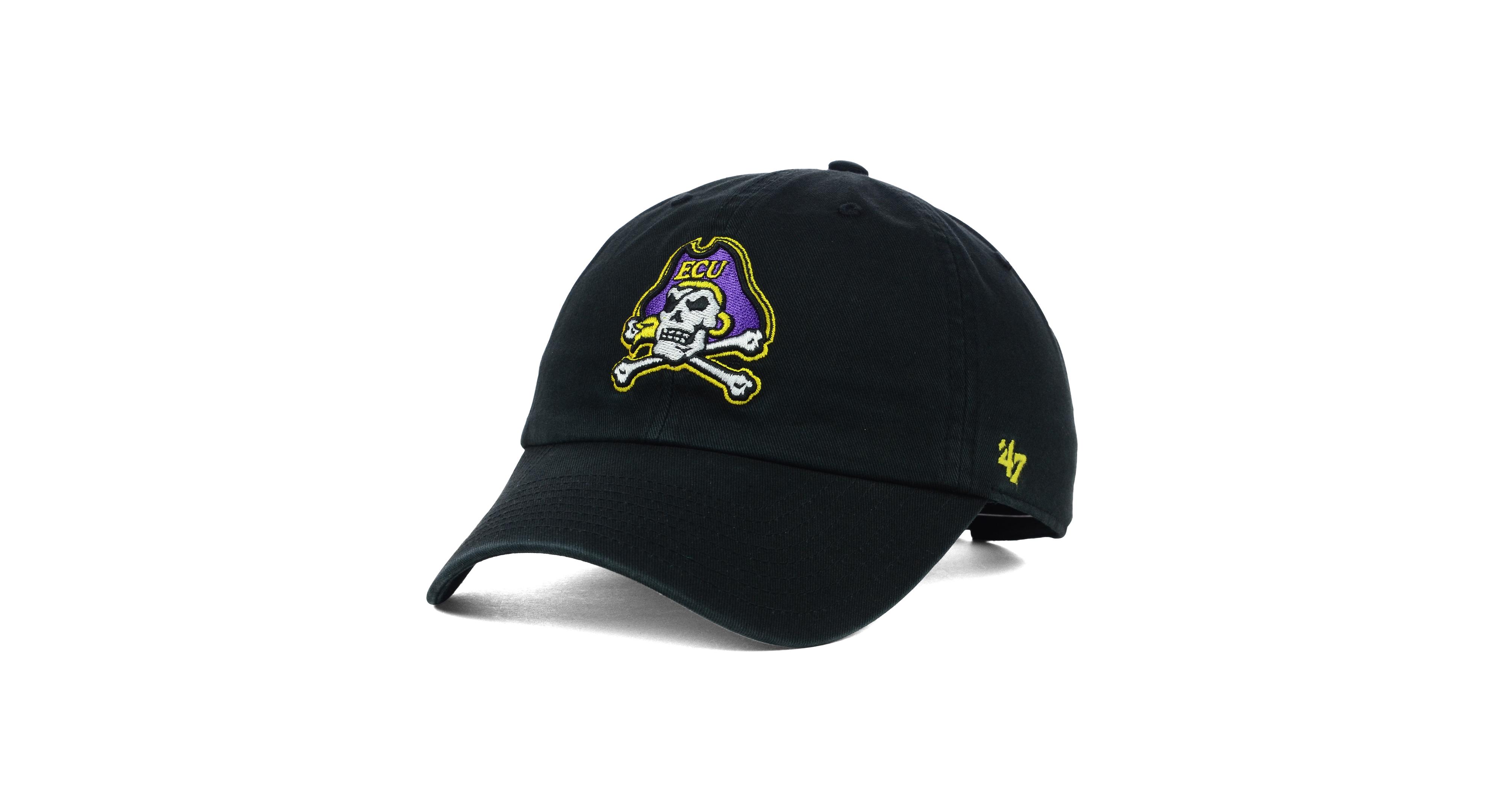 buy online a880a 6a9cd  47 Brand East Carolina Pirates Ncaa Clean-Up Cap.