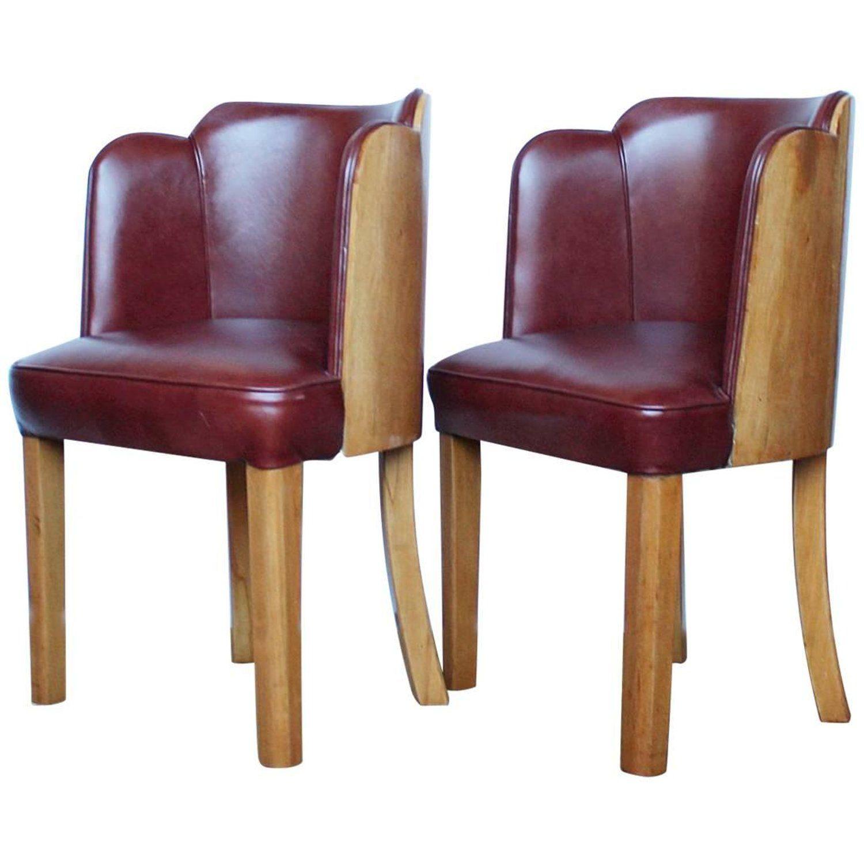 Art Deco Desk Chairs