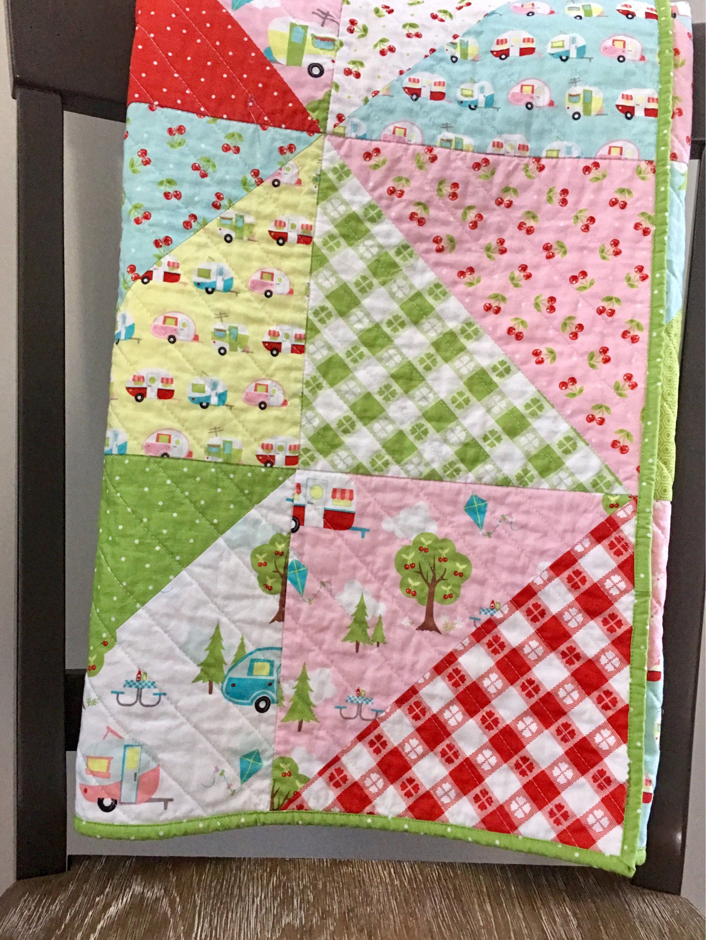 Design Your Own Handmade Baby Quilt with Custom Color and Theme