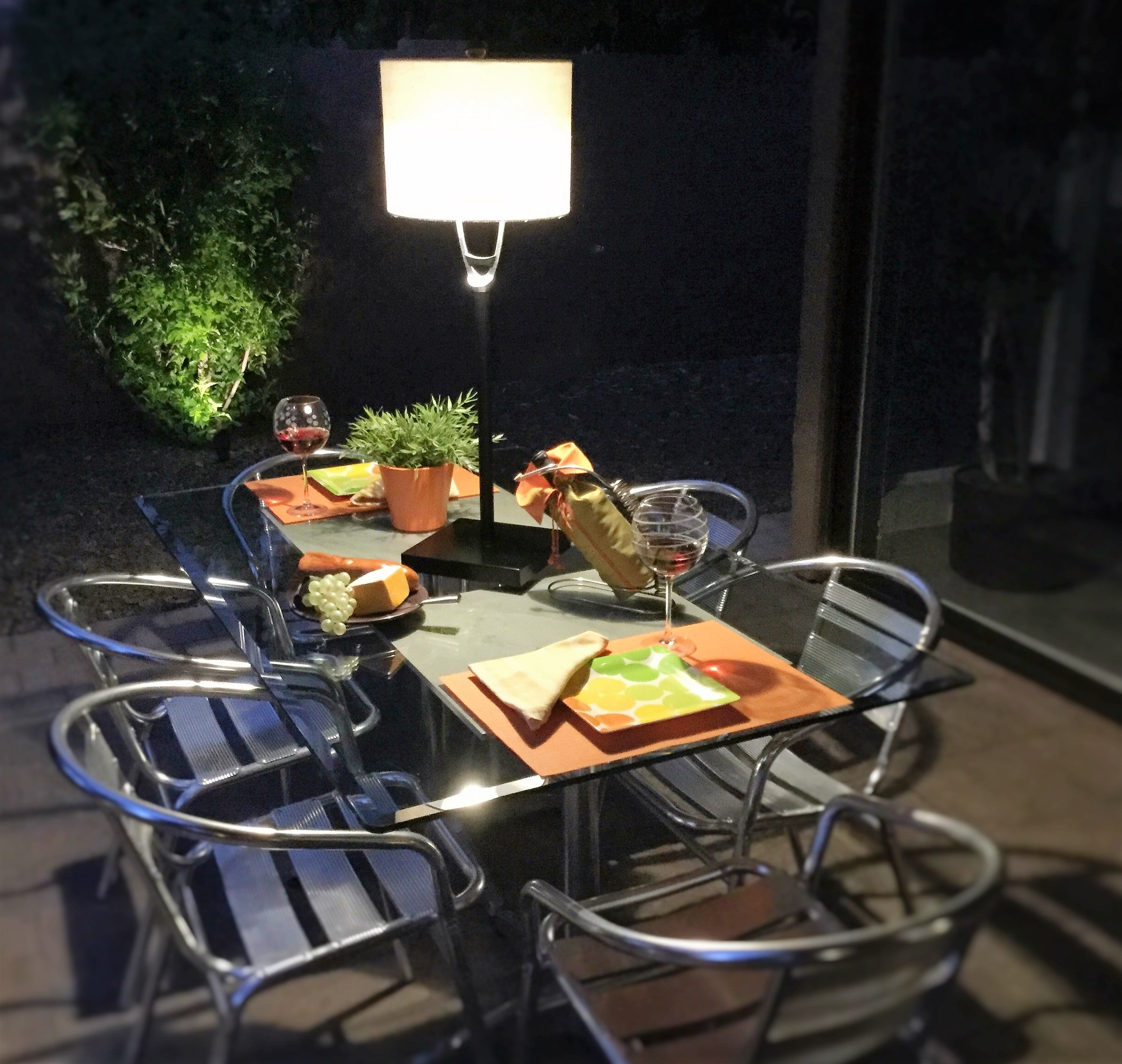 umbrella hole in your patio table
