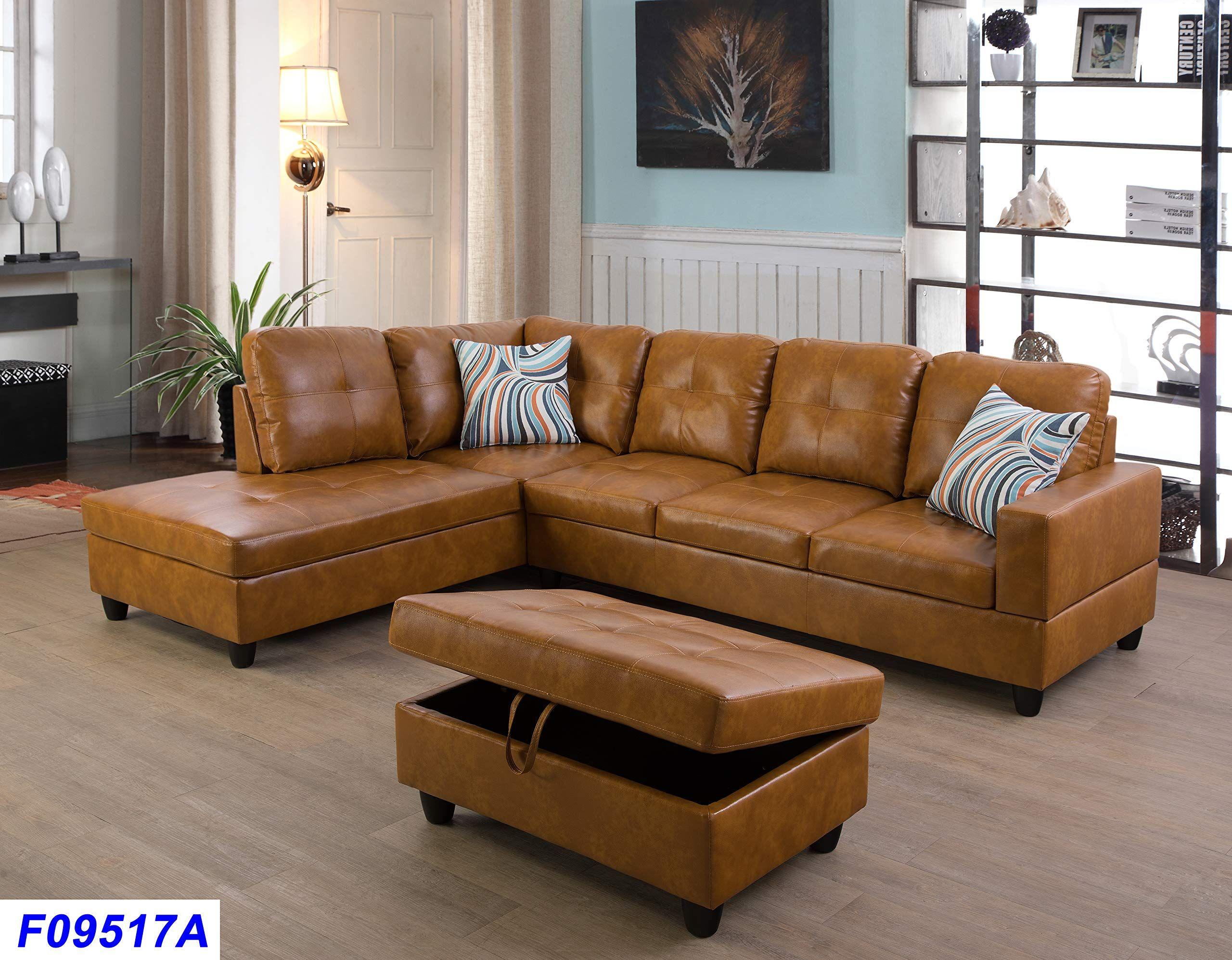 3pc Sectional Sofa Set