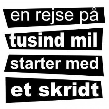 Danske citater og tekster - Vi har et stort udvalg af Danske wallsticker citater til væggen ...