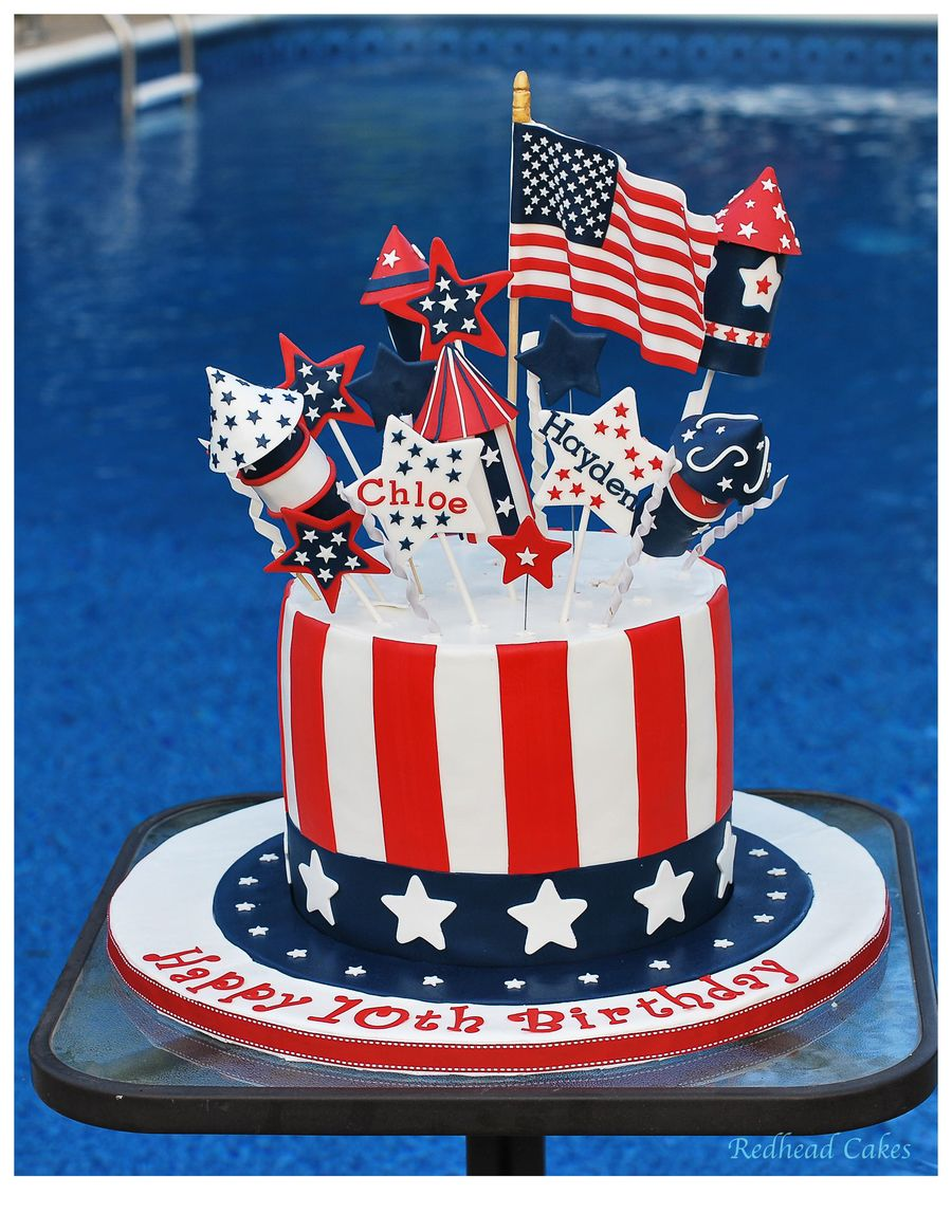 Patriotic Birthday Cake 2015 Patriotic Birthday Cake 2015 My