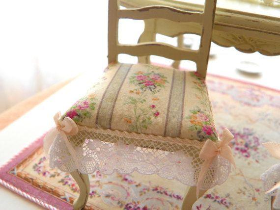 Tavoli Da Pranzo Shabby Chic : Sedia shabby chic tessuto floreale sedie nel