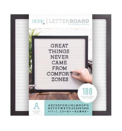 Letter Board 16x16 Black & White | Simbolos de, Panel y Símbolos