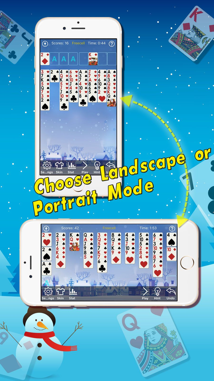 Christmas Solitaire Freecell.Freecell Christmas Play Classic Solitaire Cards Zhang
