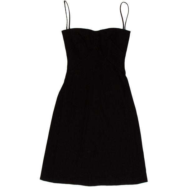 Pre-owned Acne Dress ($155) ❤ liked on Polyvore featuring dresses, black, sleeveless a line dress, a line dress, acne studios, black sleeveless dress and sleeveless dress
