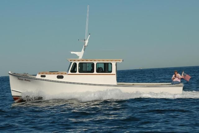 Calvin Beal 34' | Downeast Boats in 2019 | Boat, Lobster ...