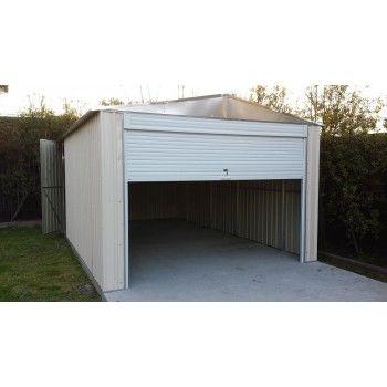 Workshop Garage Shed 3 4 W X5 8 D X2 5 H M Roller Door Garden Sheds For Sale Shed Sheds For Sale