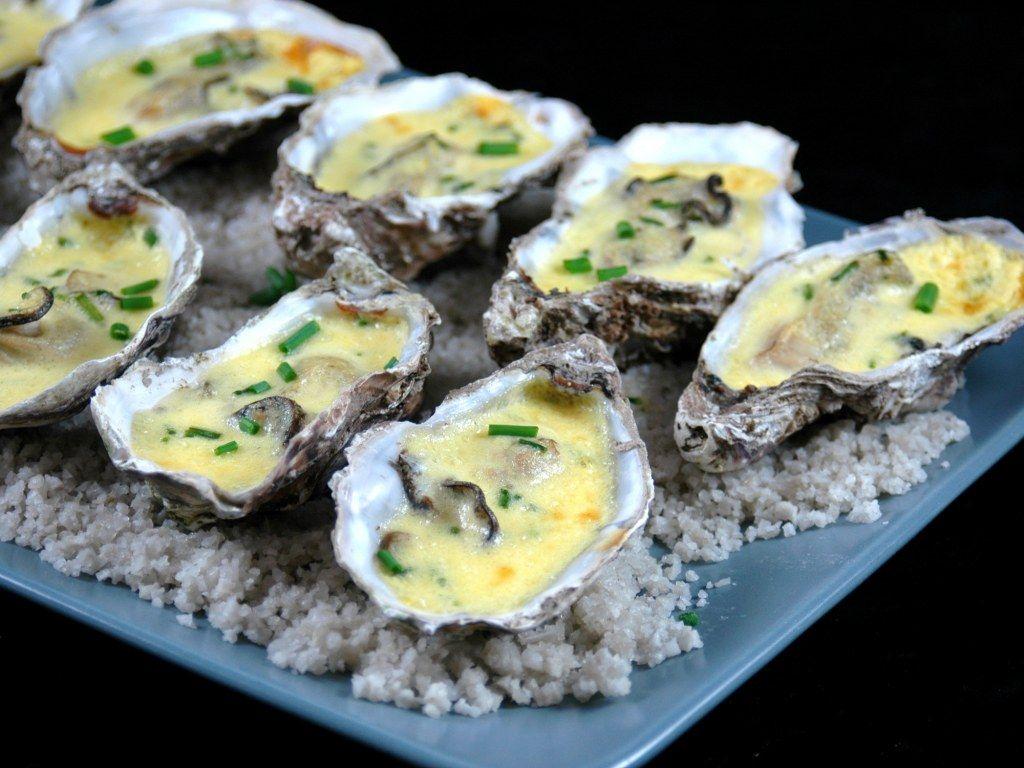 Huîtres chaudes au champagne | Recette | Recette huitre ...