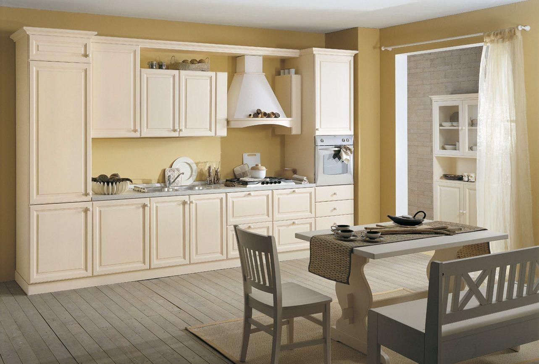 Cucina componibile con verniciatura ecologica - Verniciare cucina in legno ...