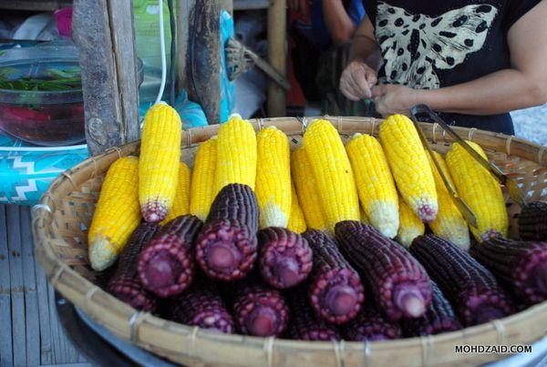 Makanan Terapung Di Klonghae Hatyai Floating Market Street Food Food Market Food