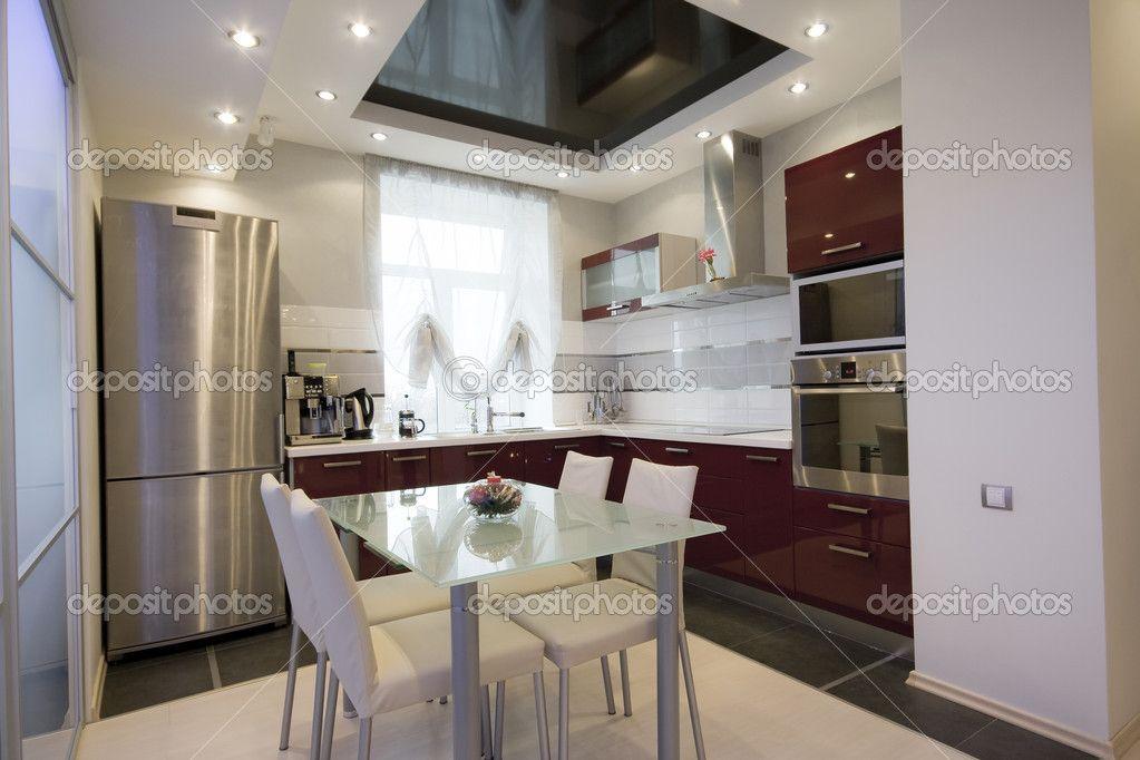 Moderne keuken interieur foto kitchens keuken