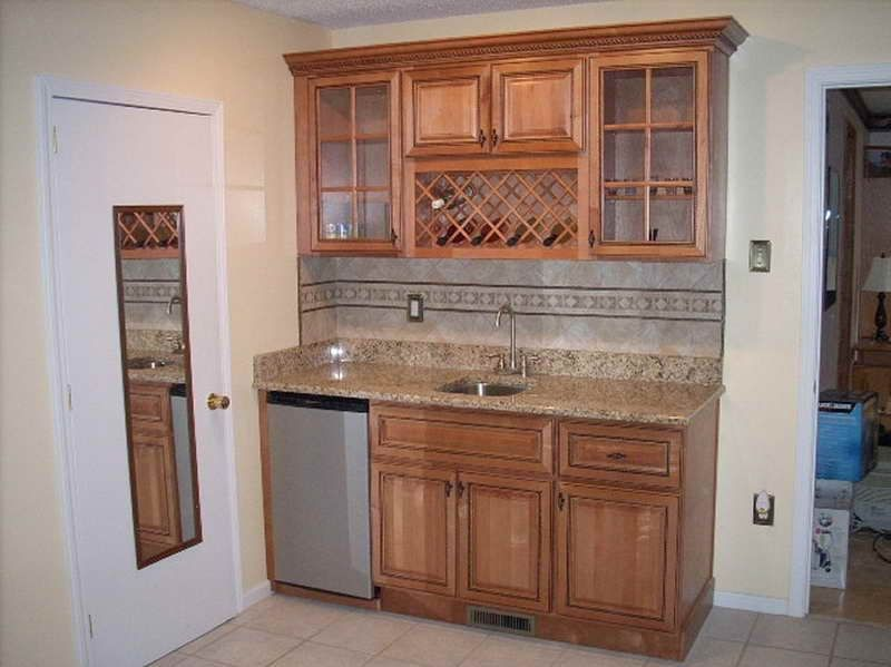 Kitchen Wet Bar Cabinets For Perfect Spot Your Home Breakfast Feature  Design Interior