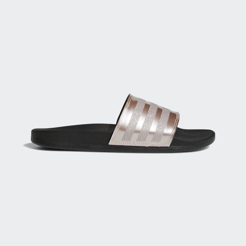 08ef2b5e6 Adilette Cloudfoam Plus Explorer Slides Grey   Grey   Core Black B75679