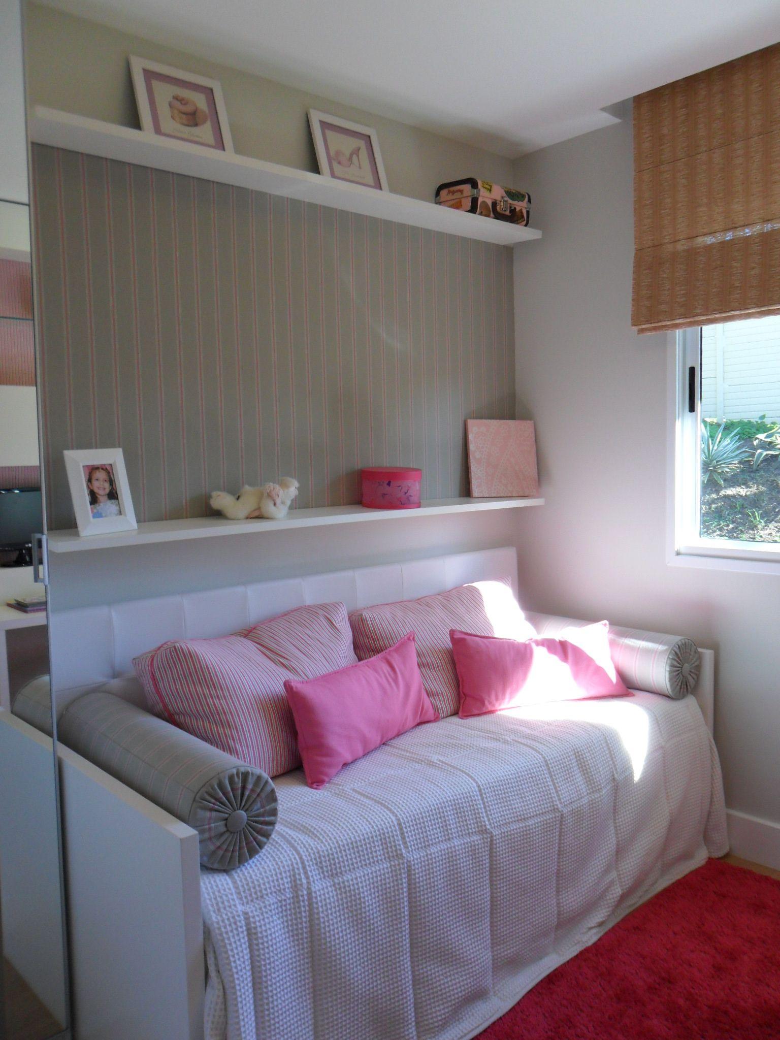 Quarto Menina Empreendimento Otto Clube Residencial #RS / Otto Clube  Residencial Girls Room Part 55