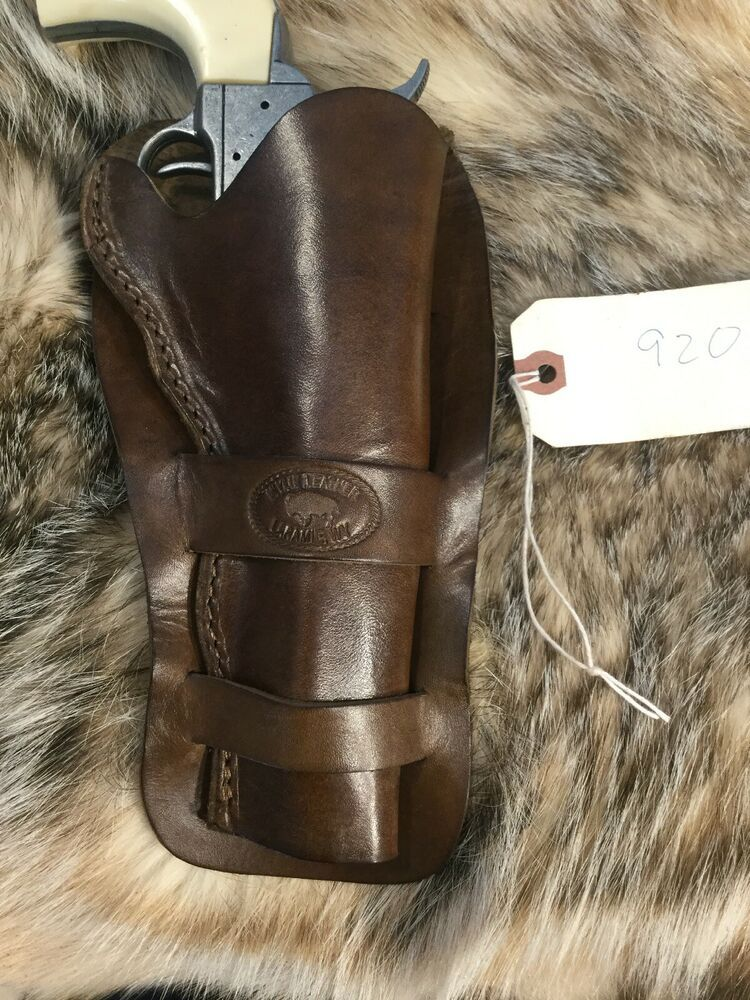 Details about AZULA Leather Pancake Single Action Revolver