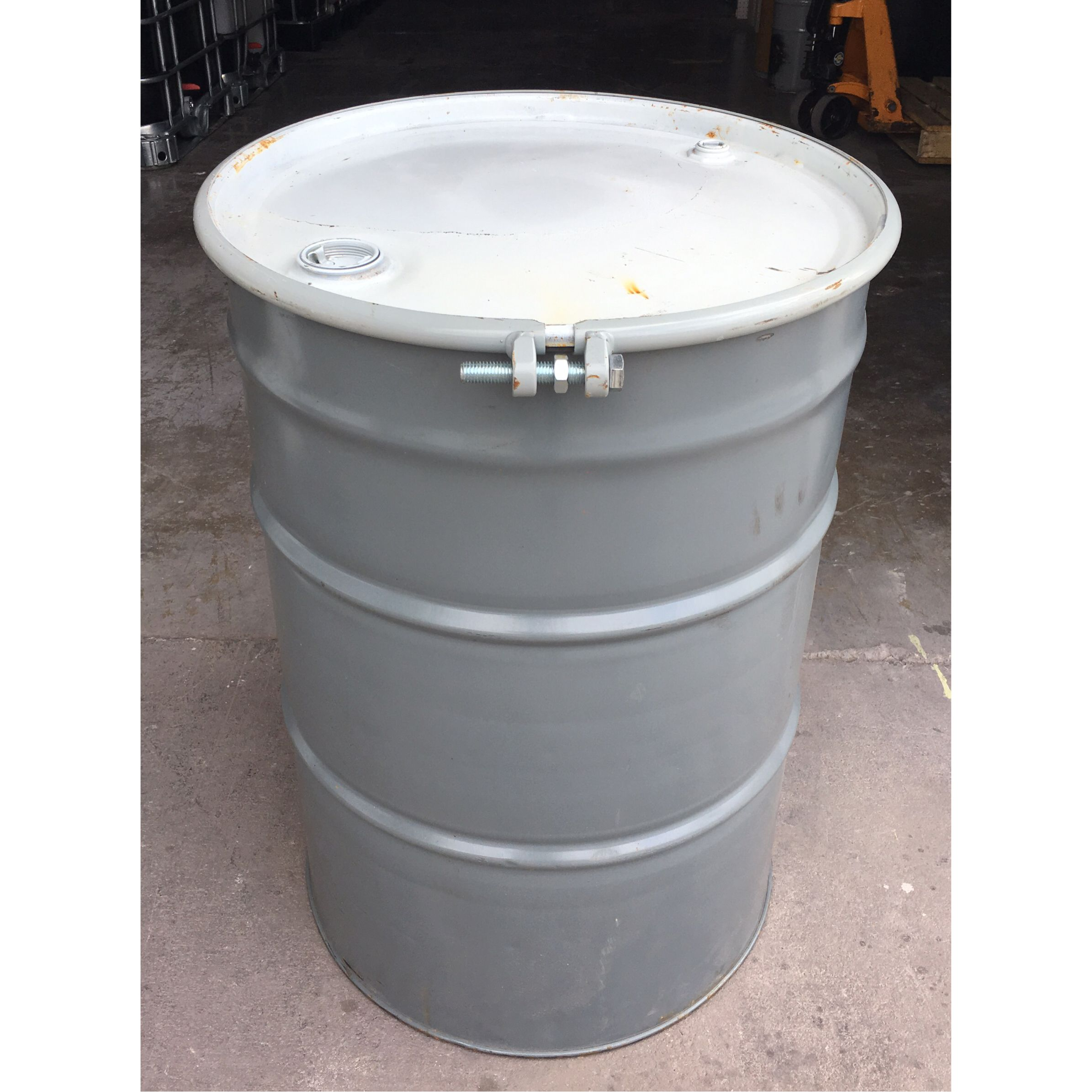 55 Gallon Metal Open Top Food Grade | Texas Totes and Barrels | 55