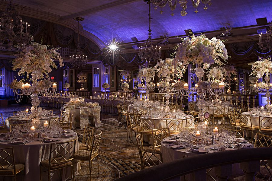 A Wedding Of Modern Sophistication At The Pierre Hotel In New York Captures Our Hearts Today