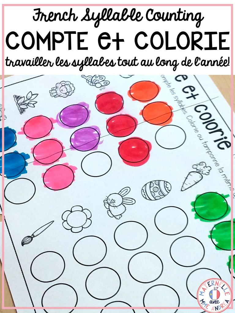 Use These Worksheets To Practice Counting Syllables In Words With Your French Primary Students They Are Called C Syllable Syllable Worksheet Primary Students [ 1024 x 768 Pixel ]