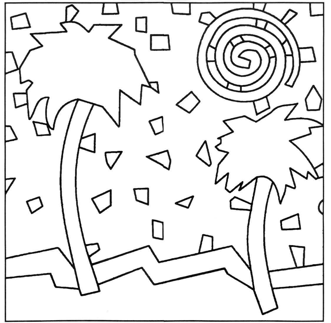 Pattern Simple Mosaic Coloring Pages Free Mosaic Patterns Mosaic Patterns Mosaic
