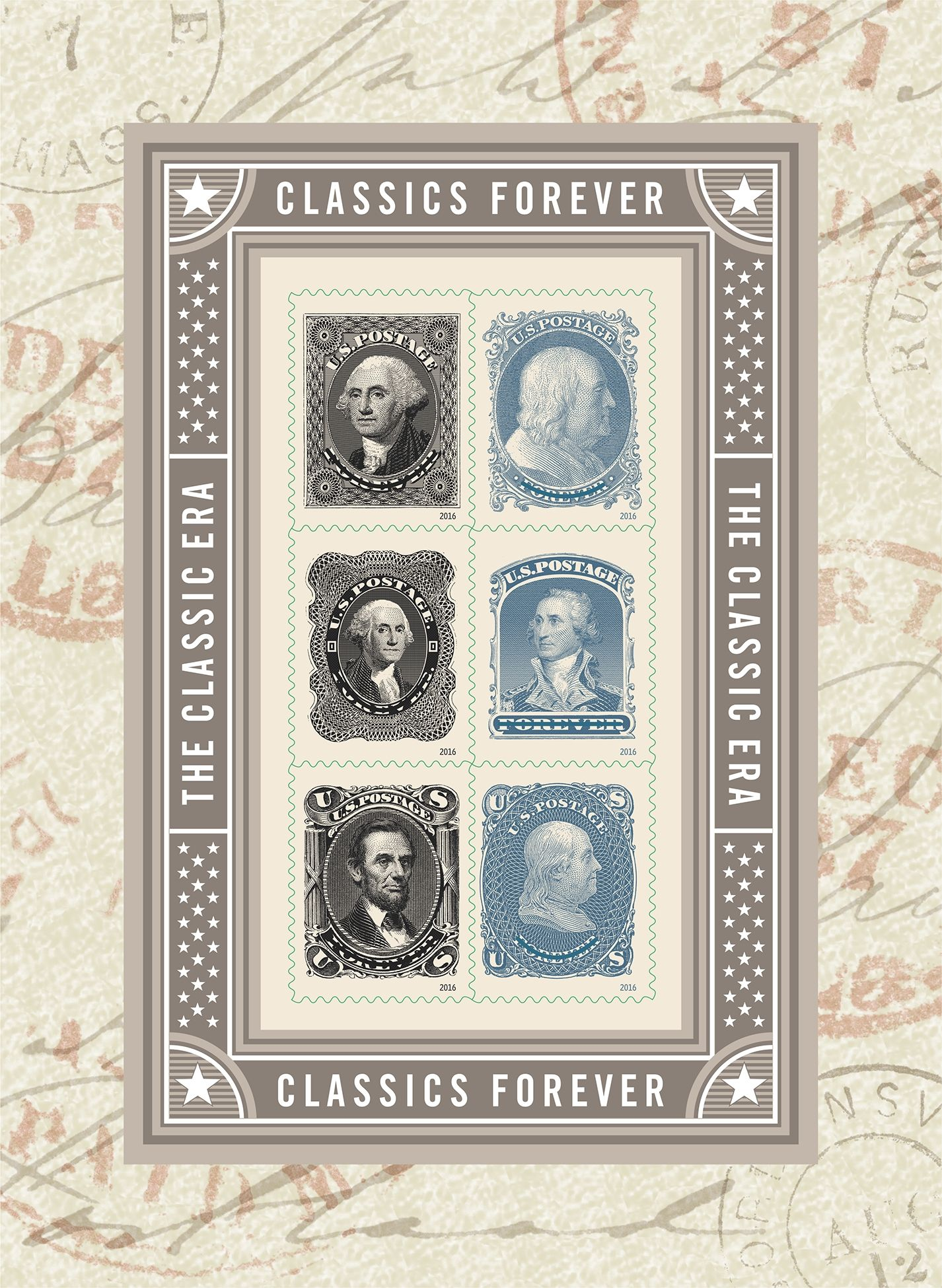 Where to buy stamps - Classics Forever Stamp Series Honoring Former U S Presidents Statesmen