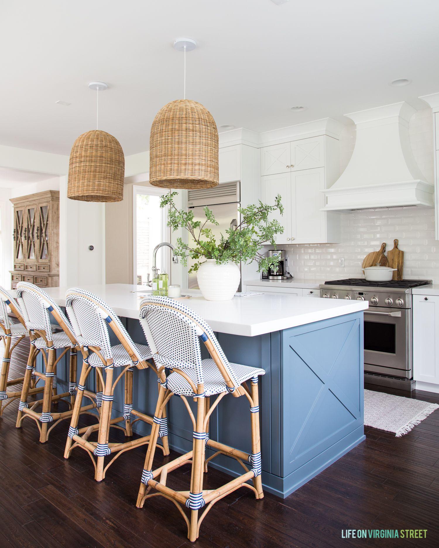 Coastal Kitchen Reveal Coastal Inspired Kitchens Kitchen