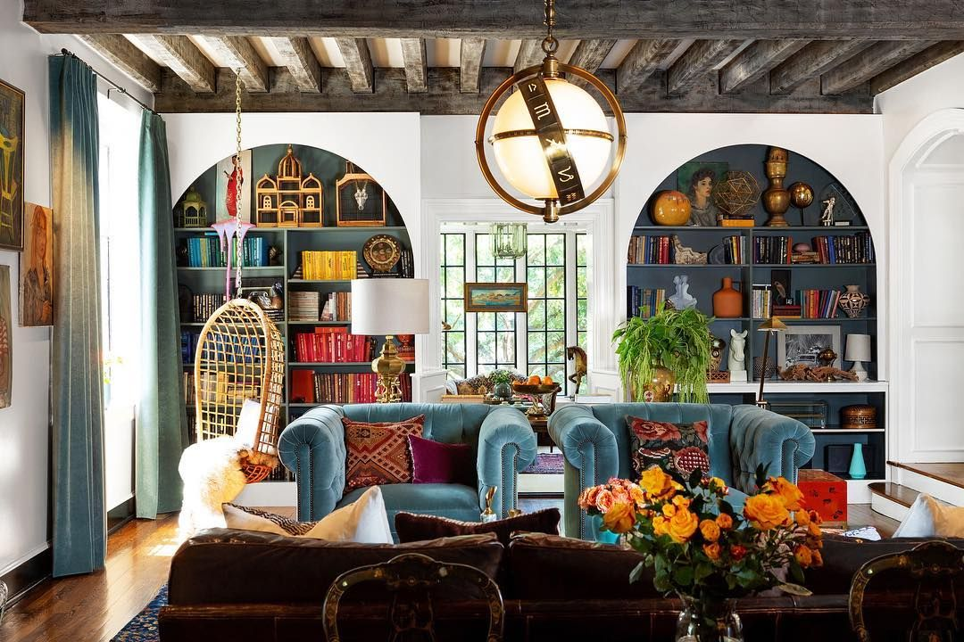 Vogue Living On Instagram Tour The Eclectic Nashville Home Of Model Lilyaldridge And Kings Of Leon Musician Caleb Foll Home And Living Home Living Room Home