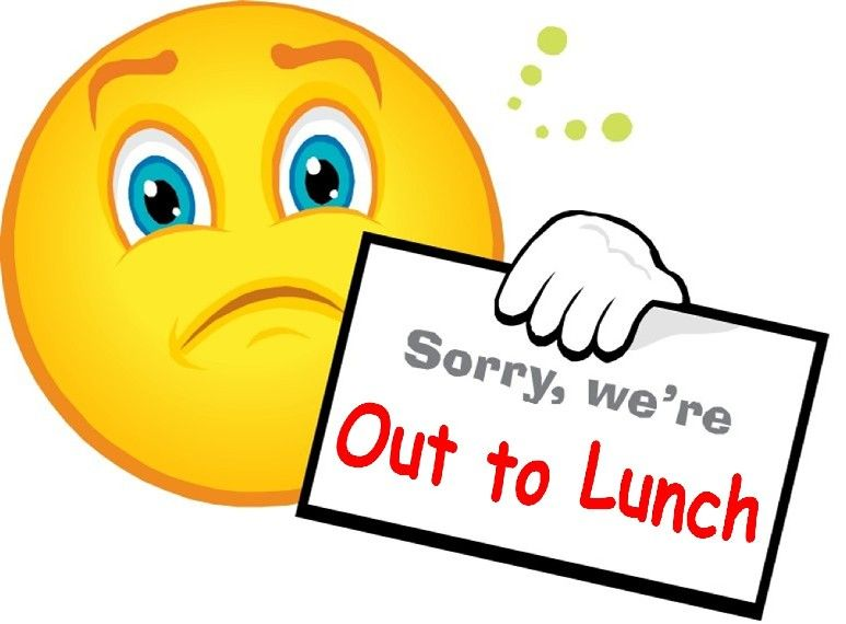 out to lunch clipart smilies pinterest clipart gallery rh pinterest ca Out to Lunch Printable out to lunch clipart sign