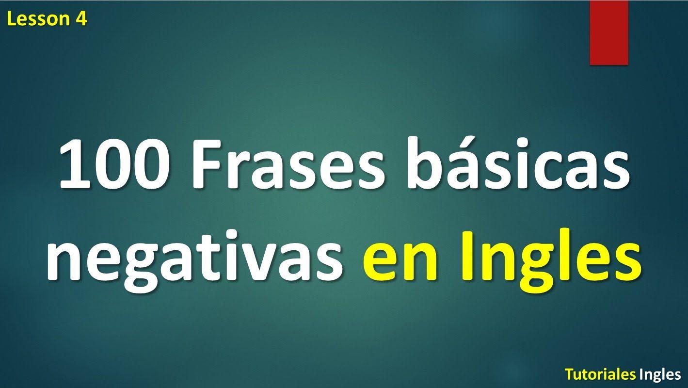 Lista 100 Frases En El Tiempo Pasado Para Aprender Ingles