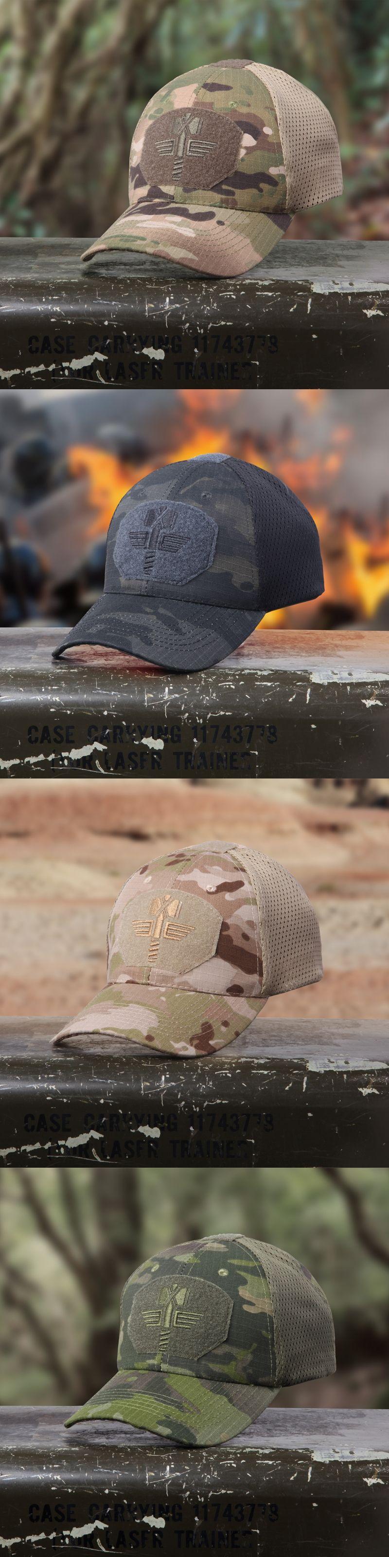 23189751951c3 Multicam Arid Tactical Baseball Cap MCA 100% Mesh 65 35 ripstop material  baseball hat