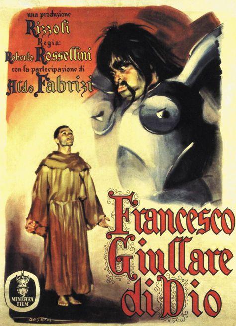 ロッセリーニ / ⭐️神の道化師、フランチェスコ '50イタリア