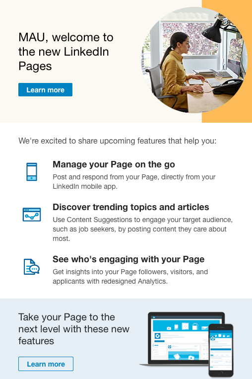 HOW TO POST ON YOUR LINKEDIN COMPANY PAGE FROM YOUR MOBILE