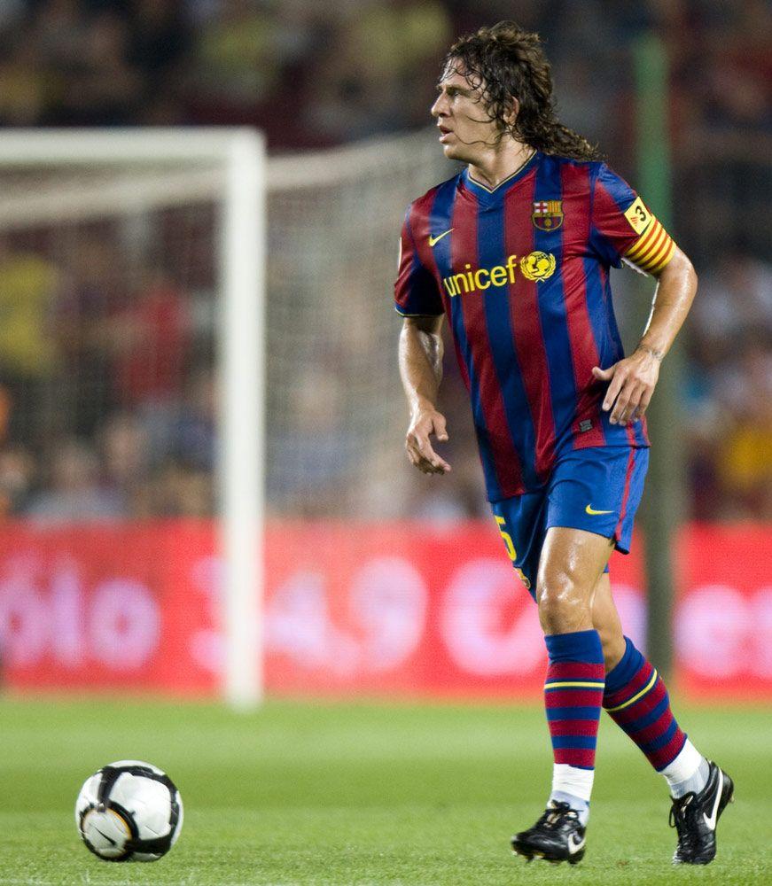 puyol Carles puyol, Leyendas de futbol y Futbol femenino