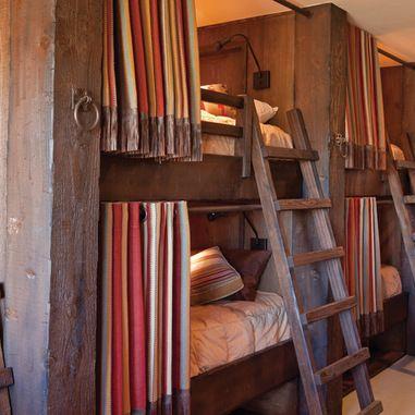 Rustic Bunk House Design Ideas Pictures Remodel And Decor Rustic Bunk Beds Rustic Bedroom Design Bunk Bed Designs