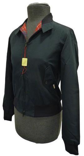 BARACUTA Womens G10 Harrington Jacket (Black)  3836452385