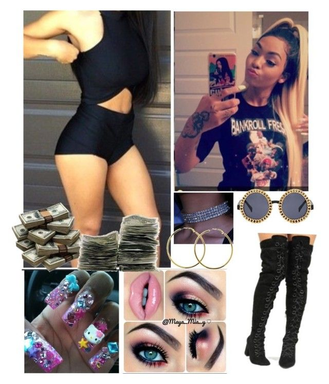 """""""¥Richer than rich"""" by xglodollx ❤ liked on Polyvore"""