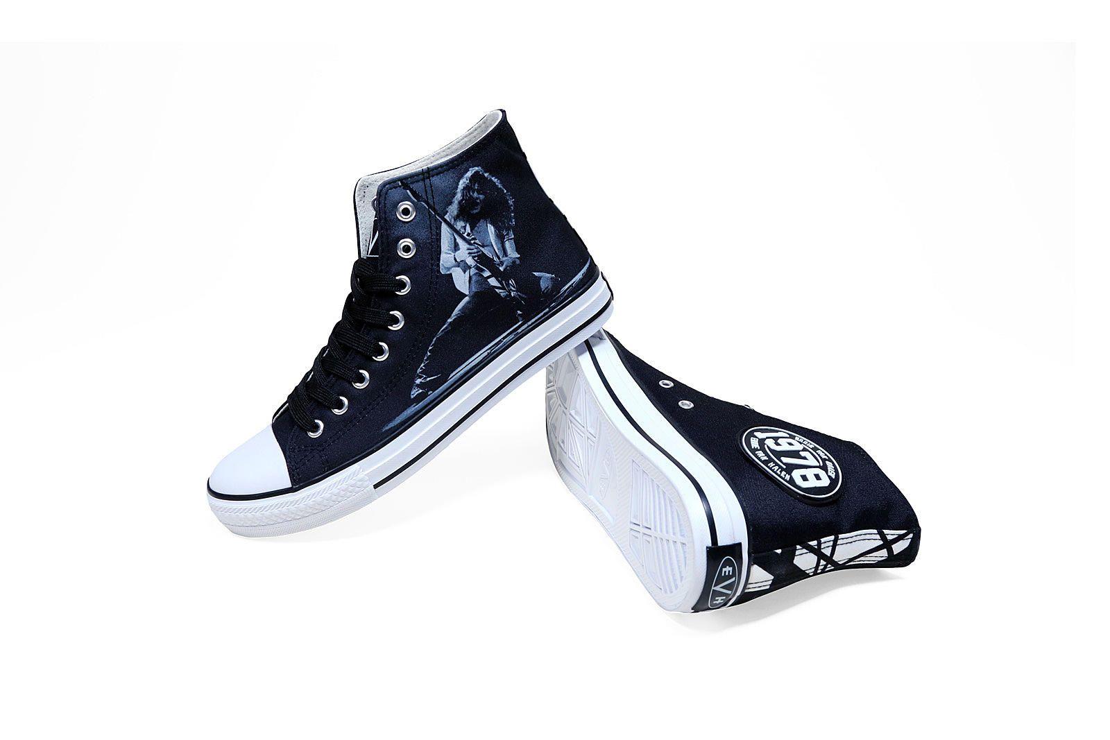 Eddie Van Halen Releases 1978 High Top Sneaker High Top Sneakers Sneakers New Sneakers