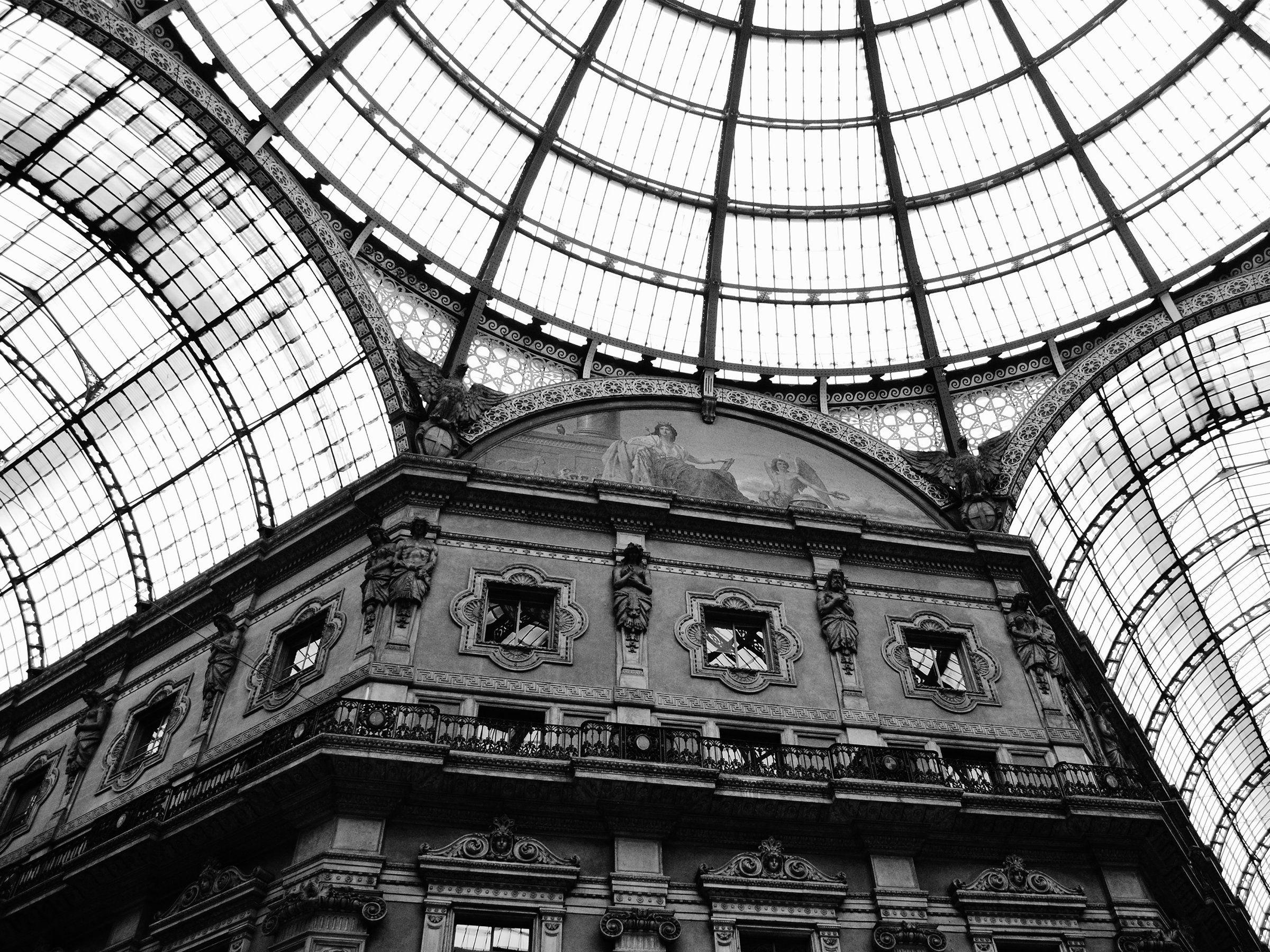 Galleria Vittorio Emanuele II Milan Italy  Large Wall Art | Etsy