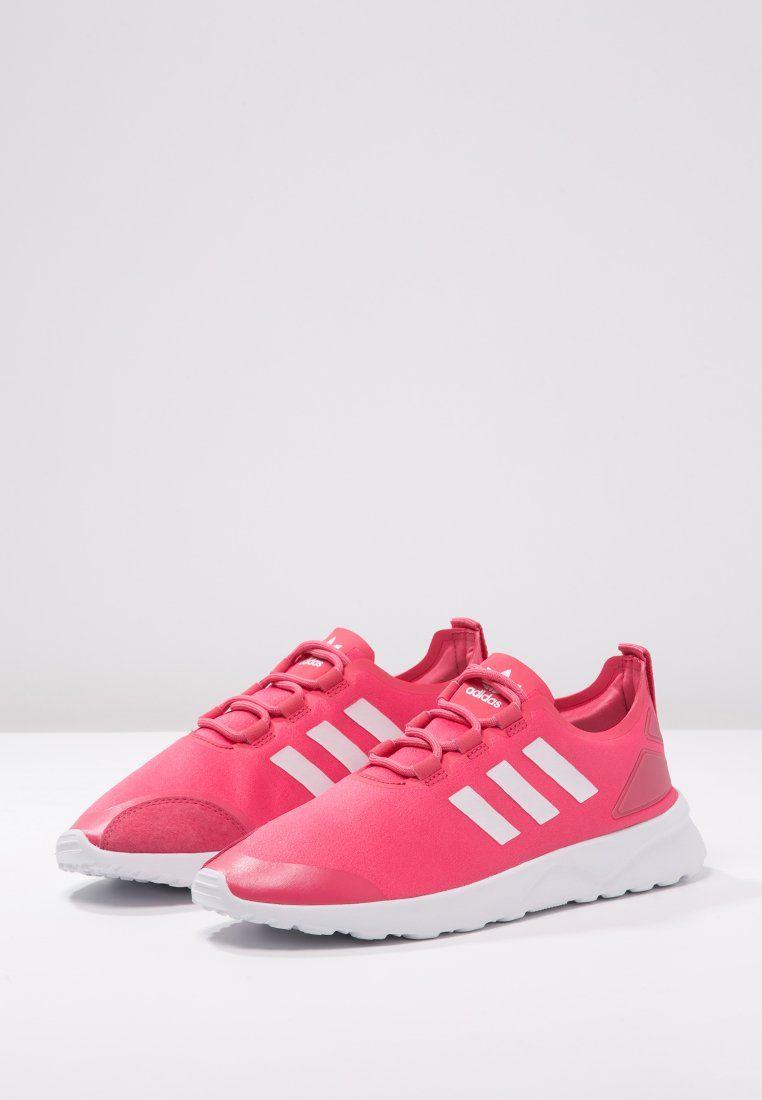 9d6b434e1b88c ... wholesale adidas originals zx flux verve sneaker low lush pink core  white zalando 6c8cc 5f0df