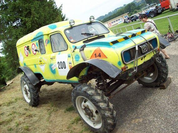 Renault 4l Fourgonette 4x4 Moteur V12 Renault R4 Renault 4l