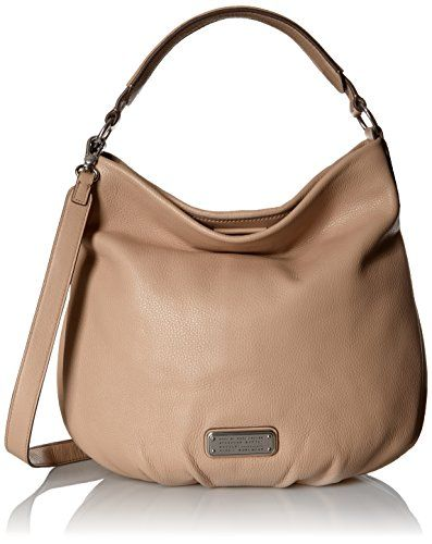 Women s Cross-Body Handbags - Marc by Marc Jacobs New Q Hillier Hobo Bag  Cameo Nude One Size    Check out this great product. 8c6a150803