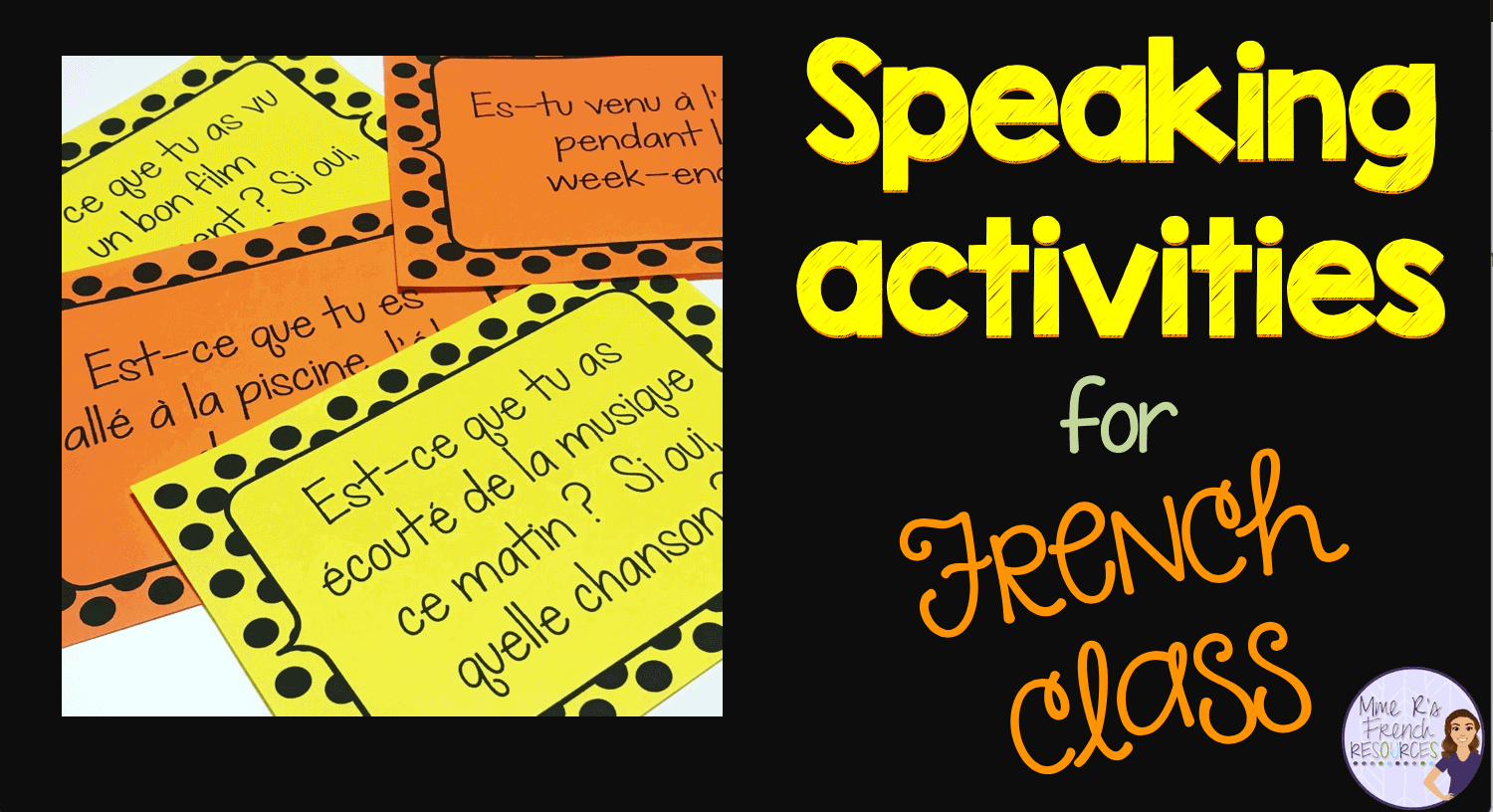 French Speaking Activities