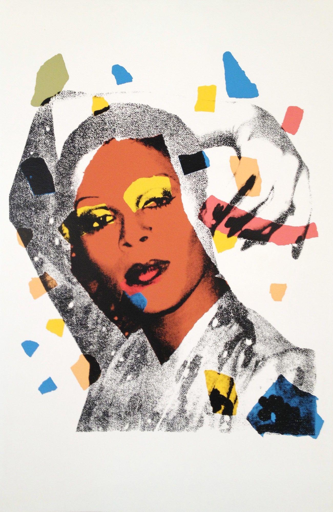 Andy Warhol | Ladies and Gentlemen 135 | 1975 | Hamilton-Selway #andywarhol
