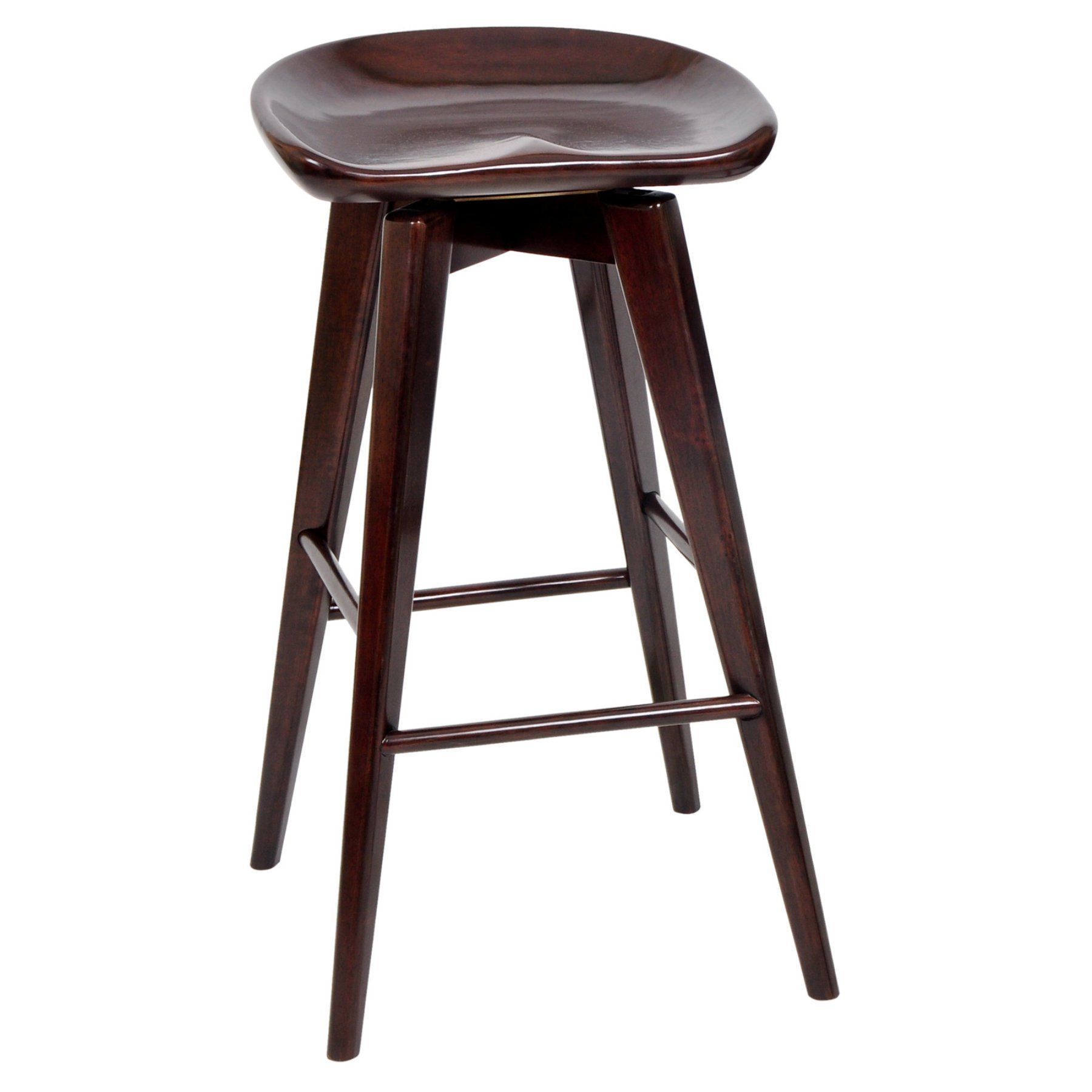 Boraam Bali 29 in. Backless Swivel Bar Stool - 54129