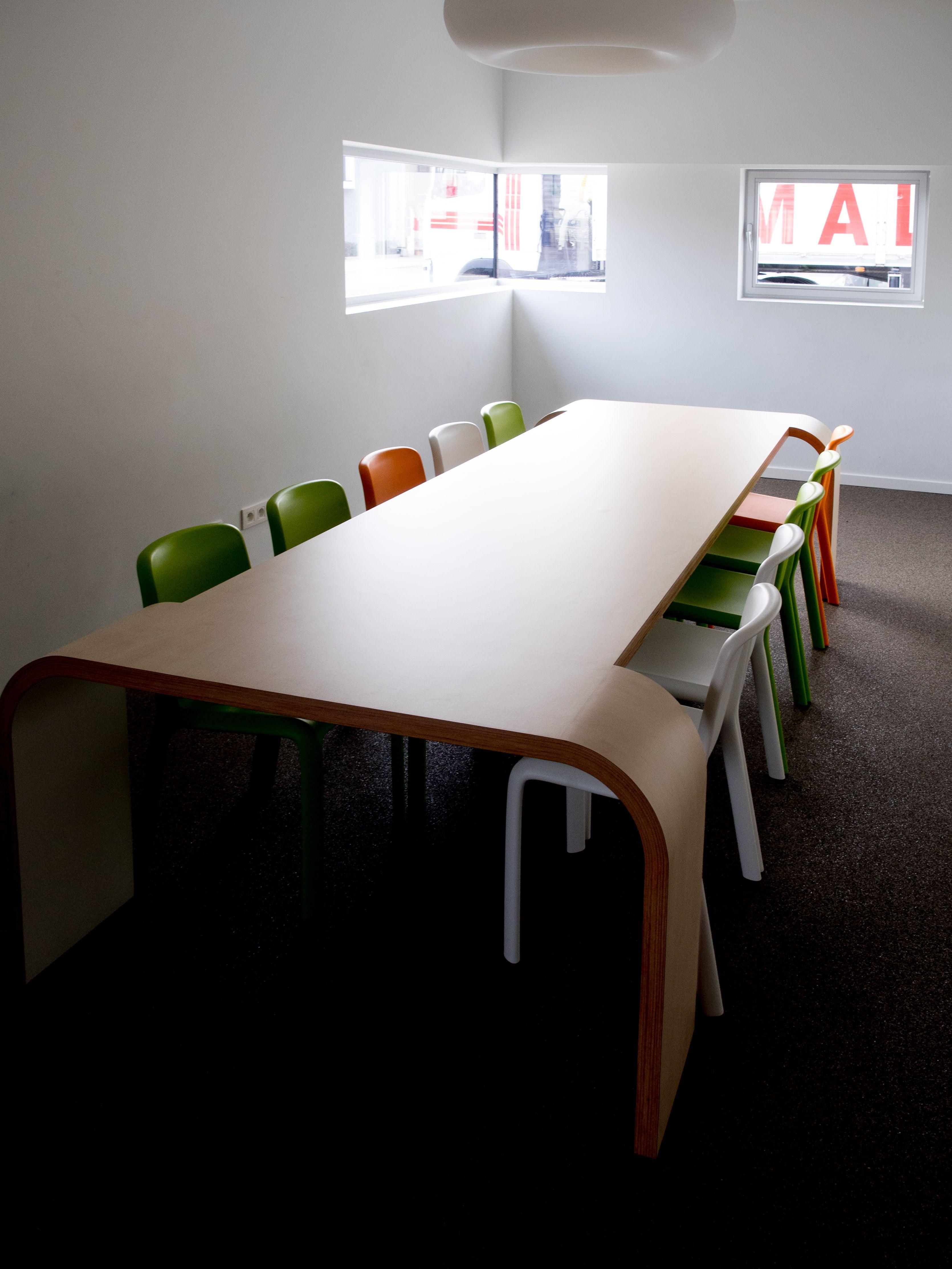 Design: www.hippo-architecten.be Execution: Romulus & Remus #table ...