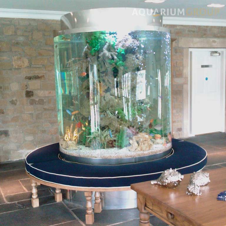 Large Circular Aquariums Google Search Childrens Salon - Acrylic aquariumfish tank clear round coffee table with acrylic