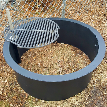 Check Out Https Www Ringoffirepit Com Stainless Steel Fire Pit Rings Spark Screen Folding Covers Cooking Gril Outdoor Fire Pit Fire Pit Steel Fire Pit Ring